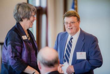 Advisor Bob Schuck at the annual professional advisor seminar