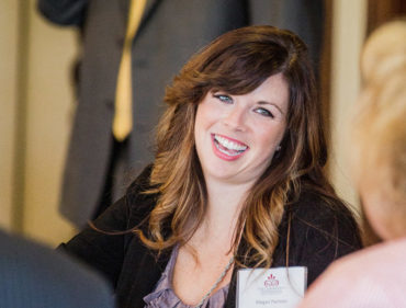 advisor Megan Parrson at the annual professional advisor seminar