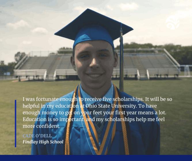 Cade Scholarship Quote